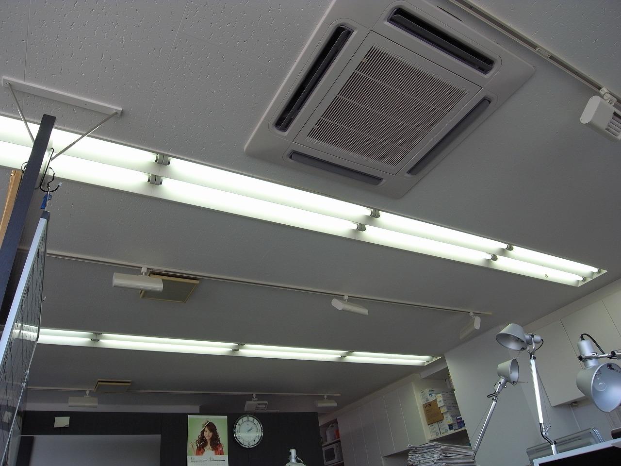 既存の蛍光灯40W2本組