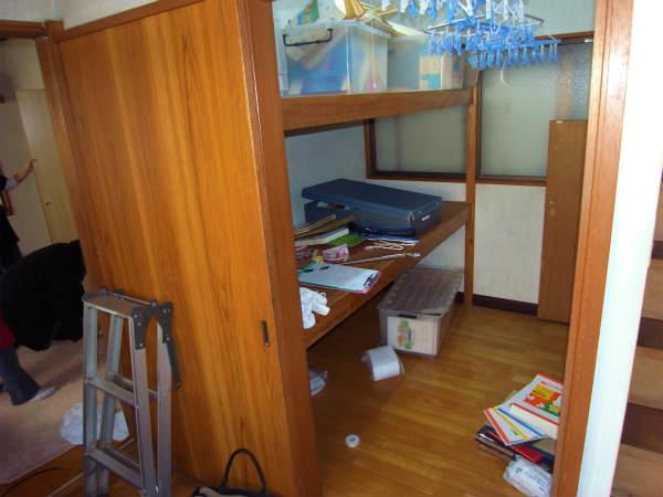 お部屋の拡張工事(横浜,旭区,一戸建て住宅)
