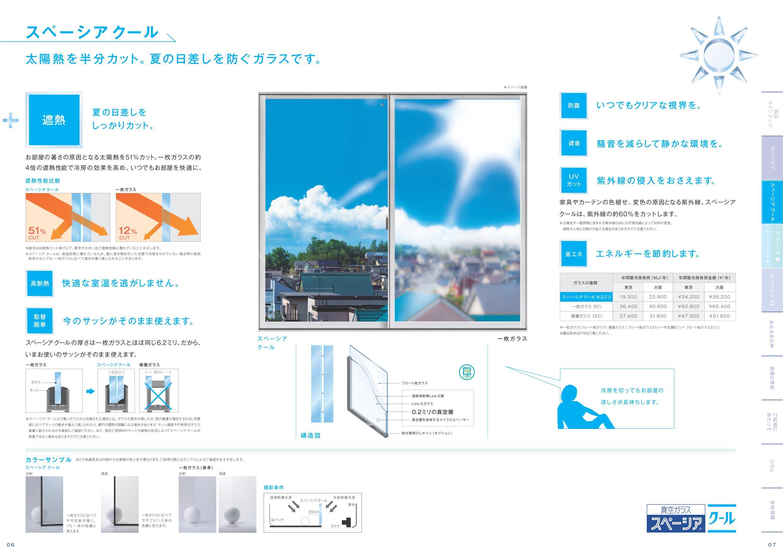 真空ガラス スペーシアの交換(横浜、戸塚区、高層マンション)