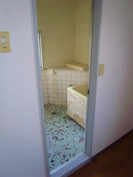 在来浴室・トイレのリフォーム(横浜,瀬谷区,一戸建て)浴室編