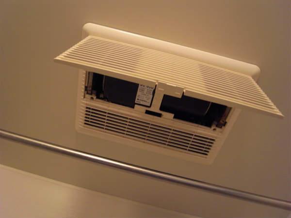 浴室換気扇の交換(横浜,西区,マンション)