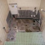 浴室施工1