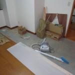 洋室2施工中②