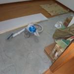 洋室2施工中①